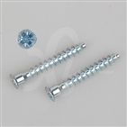 Zinc Plated Confirmat Screw